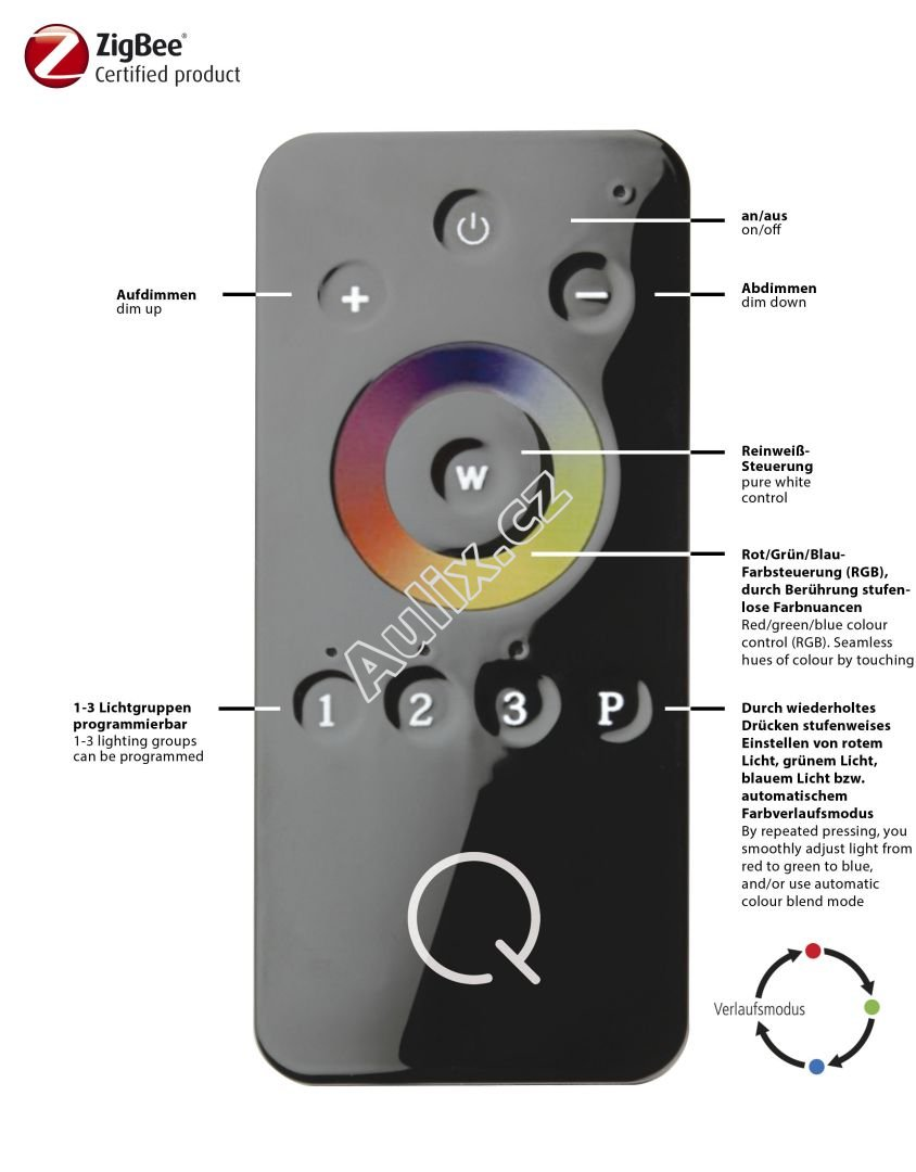 Q-SNAKE, LED lišta, Smart-Home RGB+3000K - PAUL NEUHAUS